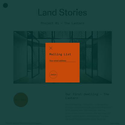 The Lantern → Land Stories