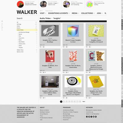 'insights' - Search - Walker Art Center