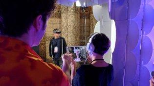 Dance with flARmingos (iPad/ARkit, HoloLens)