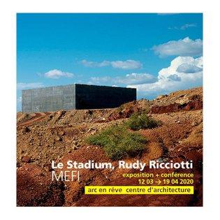 #EXPOSITION // À partir du jeudi 12 mars, venez découvrir l'exposition Le Stadium, Rudy Ricciotti   MEFI dans la galerie bla...