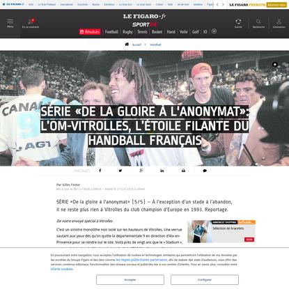 """Série """"De la gloire à l'anonymat"""": L'OM-Vitrolles, l'étoile filante du handball français"""