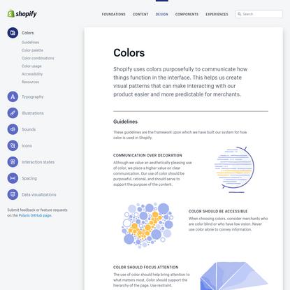 Colors - Shopify Polaris