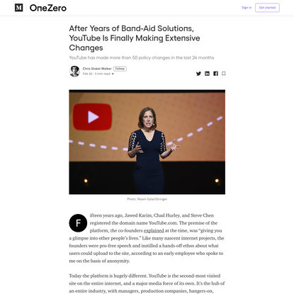 After Years of Band-Aid Solutions, YouTube Is Finally Making Extensive Changes