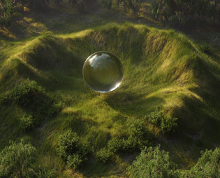 I too would like to be a giant clear orb in the middle of the woods