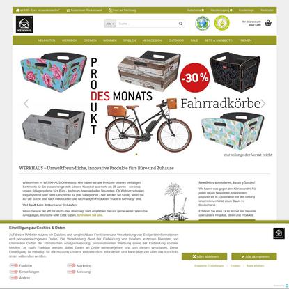 Startseite | WERKHAUS Online-Shop