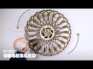 How This Guy Builds Mesmerizing Kinetic Sculptures | Obsessed | WIRED