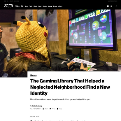 The Gaming Library That Helped a Neglected Neighborhood Find a New Identity