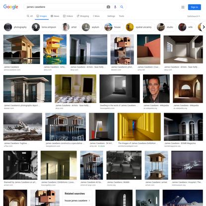 james casebere - Google Search