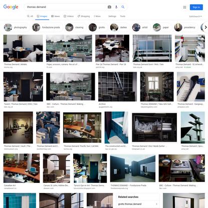 thomas demand - Google Search