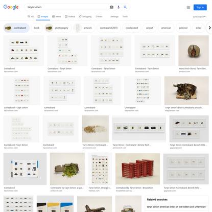 taryn simon - Google Search