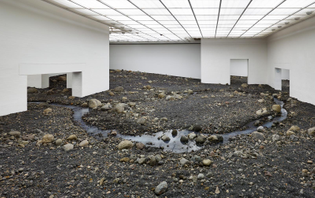 Olafur Eliasson, Riverbed, 2014