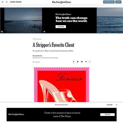 Opinion | A Stripper's Favorite Client