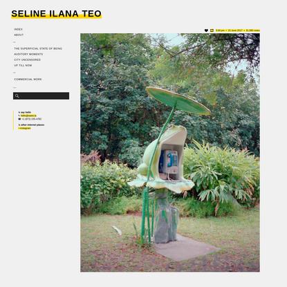 Seline Ilana Teo | swee.la