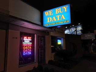 we buy data