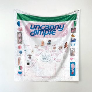 Eevi Rutanen's solo show Uncanny Dimple open today 2 - 6 pm 💓 Last day on Sunday! Open tomorrow 2 - 6 pm and during the week...