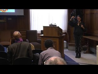 Colloquium with Jenny Sharpe (11/1/17)