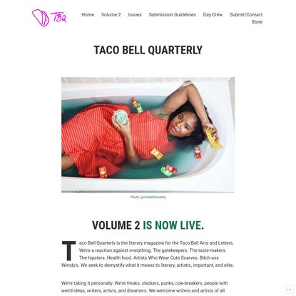 TACO BELL QUARTERLY