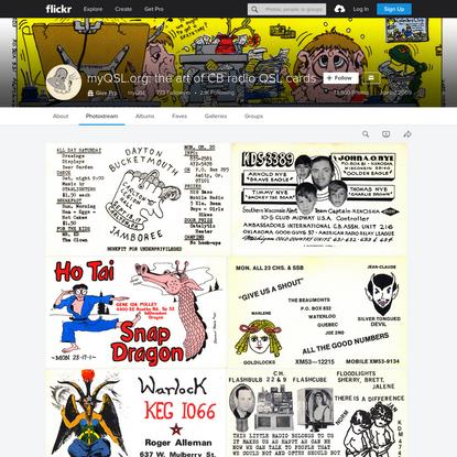 myQSL.org: the art of CB radio QSL cards
