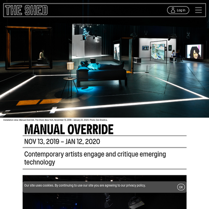 Manual Override - The Shed