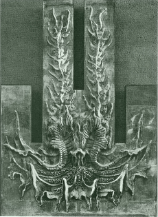 August Endell / Bas-relief sculpture for a sanatorium, Island of Föhr, Germany, 1898