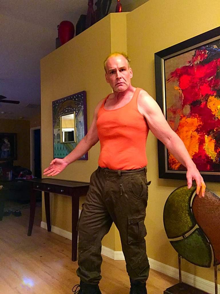 man as Bruce Willis' character from Fifth Element