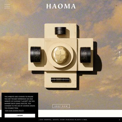 Natural Plant-Based Premium Skincare   HAOMA Earth