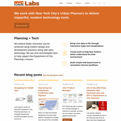 NYC Planning Labs