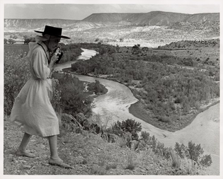 Georgia O'Keeffe, 1961, Colorado River to Glen Canyon, Utah