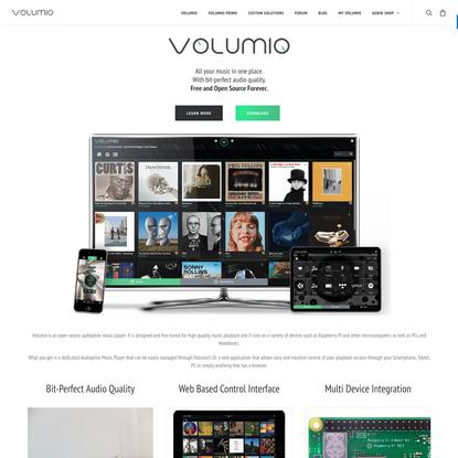 Volumio - The Audiophile Music Player