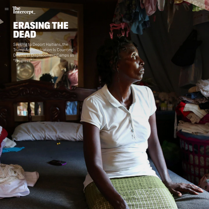 """Counting Deaths in Haiti's Displacement Camps as """"Progress"""""""