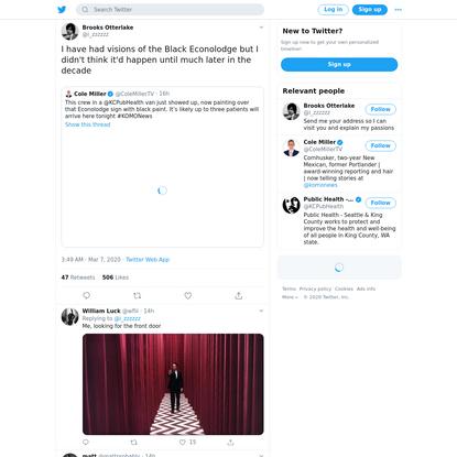 Brooks Otterlake on Twitter