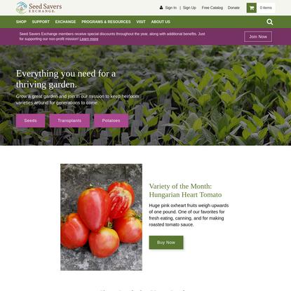 Seed Savers Exchange