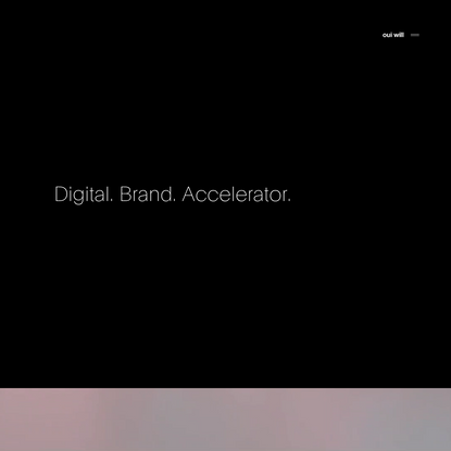Oui Will™ | Digital Web Design & Branding Agency