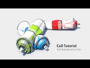Cinema 4D Tutorial: Tips For Using Soft Body Dynamics