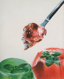 """Masao Saito, """"Mint Jelly,"""" Food Illustrations (1988)"""