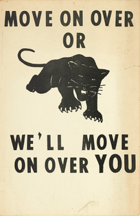 Lowndes County Freedom Organization poster (1967)