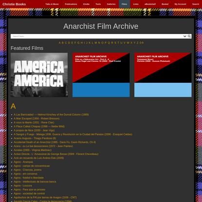Anarchist Film Archive