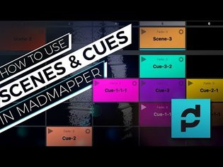 MadMapper Scenes & Cues Projection Mapping Tutorial | Cake Mapping Examples