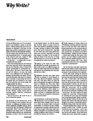 Daniel Buren – Why Write?