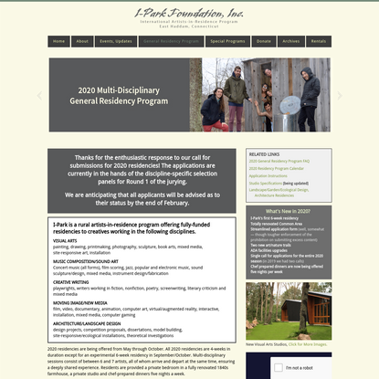 2020 General Residency Program
