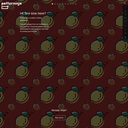 Patterninja - pattern making application