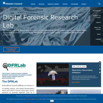 Atlantic Council's Digital Forensic Research Lab