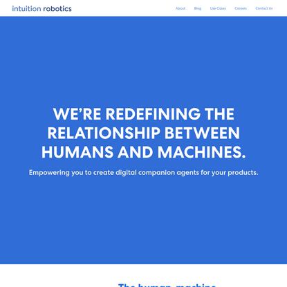 Intuition Robotics - Digital Companion Technology