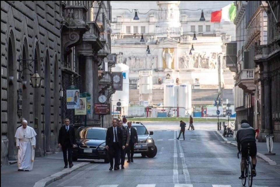 Pope Alone