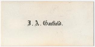J. A. Garfield