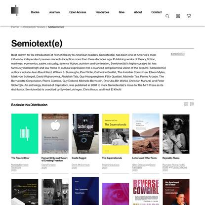 Semiotext(e)