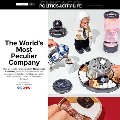 Hammacher Schlemmer: the World's Most Peculiar Company