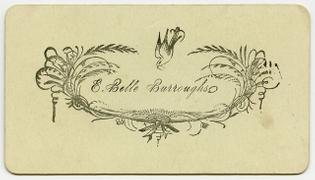 E. Belle Burroughs