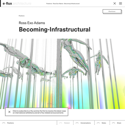 Becoming-Infrastructural