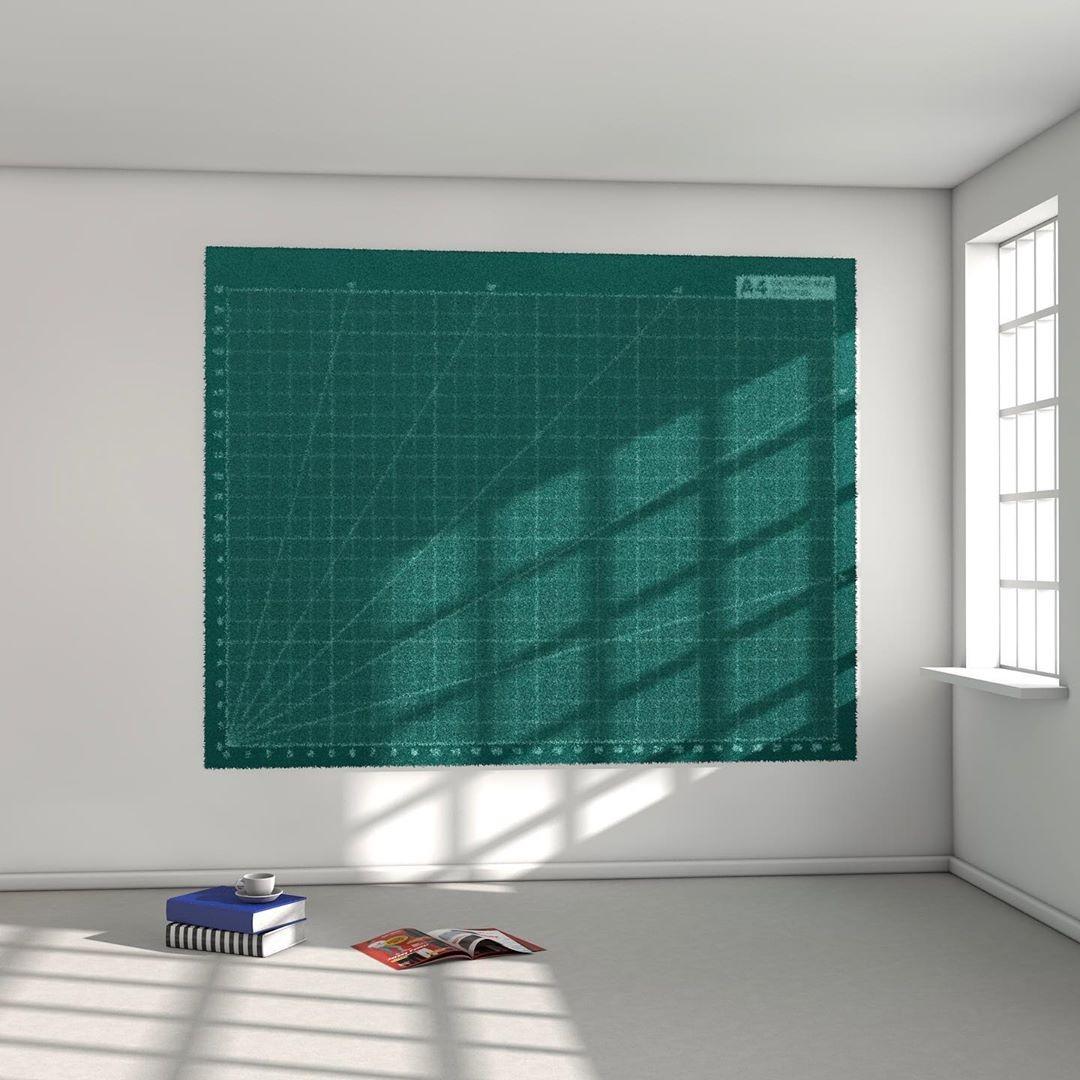 Cutting Carpet I Carpet I Wool I 300 x 234 cm I 2020